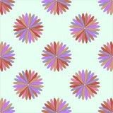 Illustrazione senza cuciture dell'ornamento del fiore Fotografia Stock