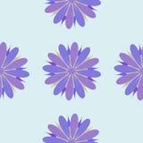 Illustrazione senza cuciture dell'ornamento del fiore Fotografia Stock Libera da Diritti