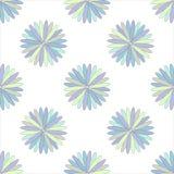 Illustrazione senza cuciture dell'ornamento del fiore Immagini Stock