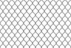 Illustrazione senza cuciture della rete del ferro recinto netto del metallo Fondo di vettore Fotografia Stock Libera da Diritti