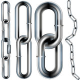 Illustrazione senza giunte di vettore di collegamento Chain Fotografia Stock