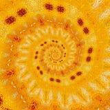 Illustrazione a spirale di simmetria di progettazione geometrica Ornamento royalty illustrazione gratis