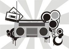 Illustrazione stereo Fotografia Stock Libera da Diritti
