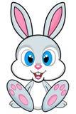 Illustrazione sveglia del coniglietto su fondo bianco Png disponibile Fotografia Stock Libera da Diritti