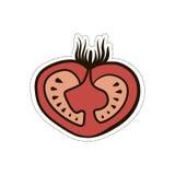 Illustrazione sveglia divertente del fumetto fertile del pomodoro Fotografia Stock