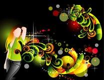 Illustrazione teenager Immagine Stock