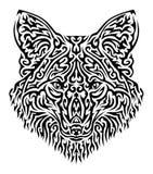 Illustrazione tribale di vettore di Fox Immagine Stock