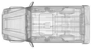 Illustrazione tridimensionale del quadro televisivo dell'automobile Mercedes-Benz G classe Versione di sintonia dell'automobile d Immagine Stock Libera da Diritti