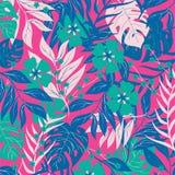 Illustrazione tropicale di vettore della copertura della felce della foresta fotografia stock libera da diritti