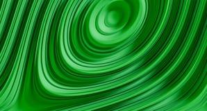 Illustrazione verde astratta del fondo 3d Fotografia Stock Libera da Diritti
