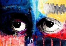 Illustrazione verniciata 4 degli occhi Royalty Illustrazione gratis
