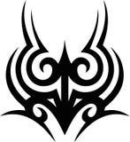 Illustrazione - vinile tribale di progettazione del tatuaggio pronto Immagini Stock