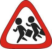 Illustrazione: Zona dell'uomo d'affari (icona) Fotografia Stock Libera da Diritti