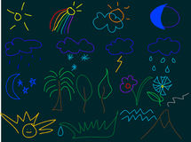 Illustrazioni dei bambini illustrazione vettoriale