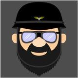 Illustrazioni dei motociclisti royalty illustrazione gratis