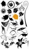Illustrazioni dell'ornamento Fotografie Stock Libere da Diritti