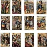 Illustrazioni di fiaba Fotografia Stock Libera da Diritti