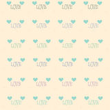 Illustrazioni di giorno di biglietti di S. Valentino Fotografia Stock