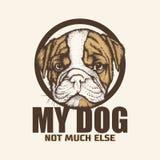 Illustrazioni di logo dell'animale domestico fotografia stock
