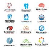 Illustrazioni mediche di simbolo Immagini Stock