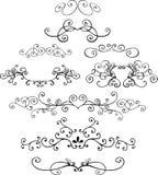 Illustrazioni ornamentali Fotografia Stock Libera da Diritti