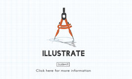 Illustreer creëren het Artistieke Concept van Verbeeldingsideeën stock illustratie
