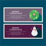 Illustreer Kerstmis voor groet vector illustratie