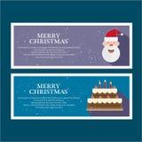 Illustreer Kerstmis voor groet royalty-vrije illustratie