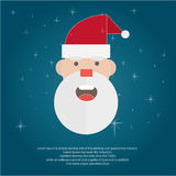 Illustreer Kerstmis voor groet stock illustratie