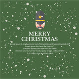 Illustreer Kerstmis voor groetachtergrond stock illustratie