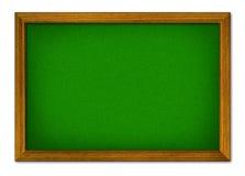 Illustreer van lege groene raad royalty-vrije stock foto's