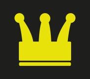 Illustrerad kronasymbol Royaltyfri Fotografi