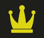 Illustrerad kronasymbol Royaltyfria Bilder