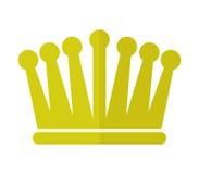 Illustrerad kronasymbol Arkivbild
