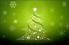 illustrerad stor ferie för juldetaljer Arkivbilder