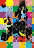 Europa kartlägger Arkivbilder