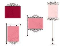Illustrtion set of frames Royalty Free Stock Photo