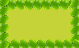 Illusttration вектора рамки Apple Стоковое Фото