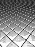 Illution silver aluminium pattern. Background 3d illustration Stock Photo