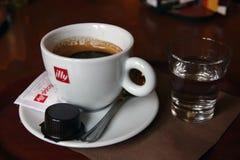 Illy咖啡 免版税库存图片