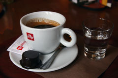 Illy coffee Royalty Free Stock Images