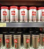 ILLY COFFEE Stock Photo