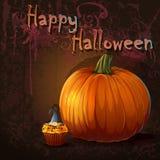 Illyustatsiya for the holiday Halloween.  royalty free illustration