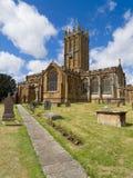 Ilminster församlingkyrka i Somerset, England Arkivfoto