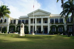 Ilocos Norte capitol. Capitol Building in Ilocos Norte Royalty Free Stock Images