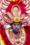 2018 Dinagyang Festival. ILOILO , PHILIPPINES - JAN 28 : Participant in the Dinagyang Festival in Iloilo Philippines on January 28 2018. The Dinagyang is Royalty Free Stock Images