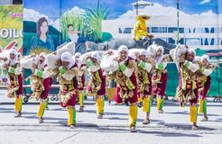 2018 Dinagyang Festival. ILOILO , PHILIPPINES - JAN 28 : Participants in the Dinagyang Festival in Iloilo Philippines on January 28 2018. The Dinagyang is Stock Photo