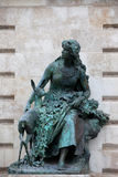 Ilonka Staue in Budapest Stock Photography
