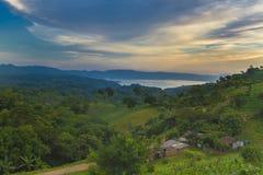 Ilopango lake, El Salvador Royalty Free Stock Images