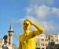 Ilotopie do Cie de França no ` internacional de Art District do ` do festival da rua Fotografia de Stock Royalty Free